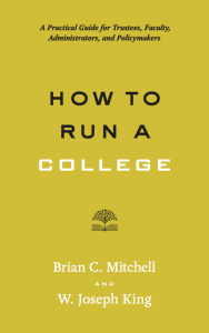 How to Run a College book